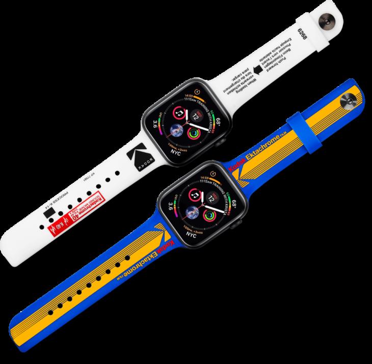 Kodak コラボ Apple Watchバンド