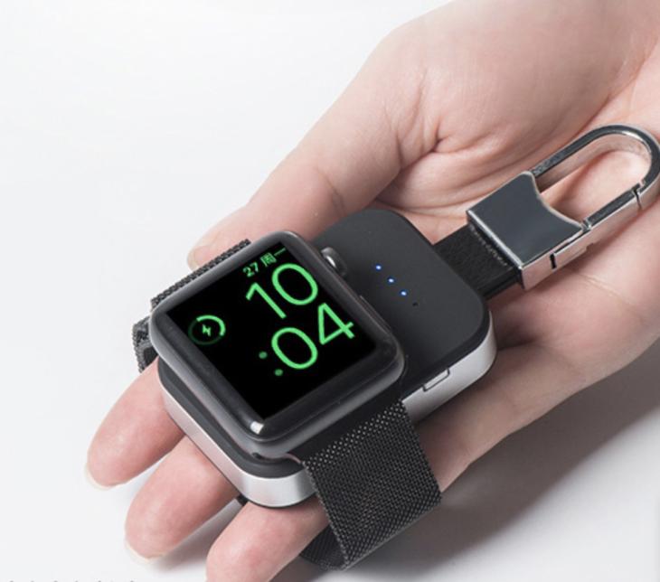 Apple Watchキーホルダー型充電器