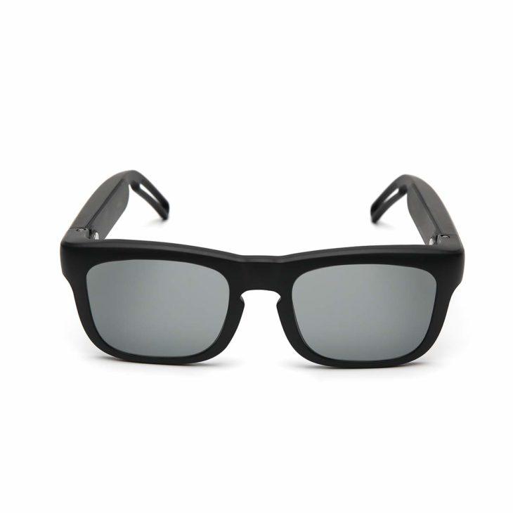 スマートサングラス Mutrics MUSIG-X-BLACK-L ブラック
