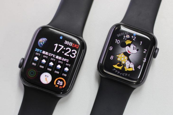 Apple Watch Series 6のケース、40mmと44mmのどっちがいい?